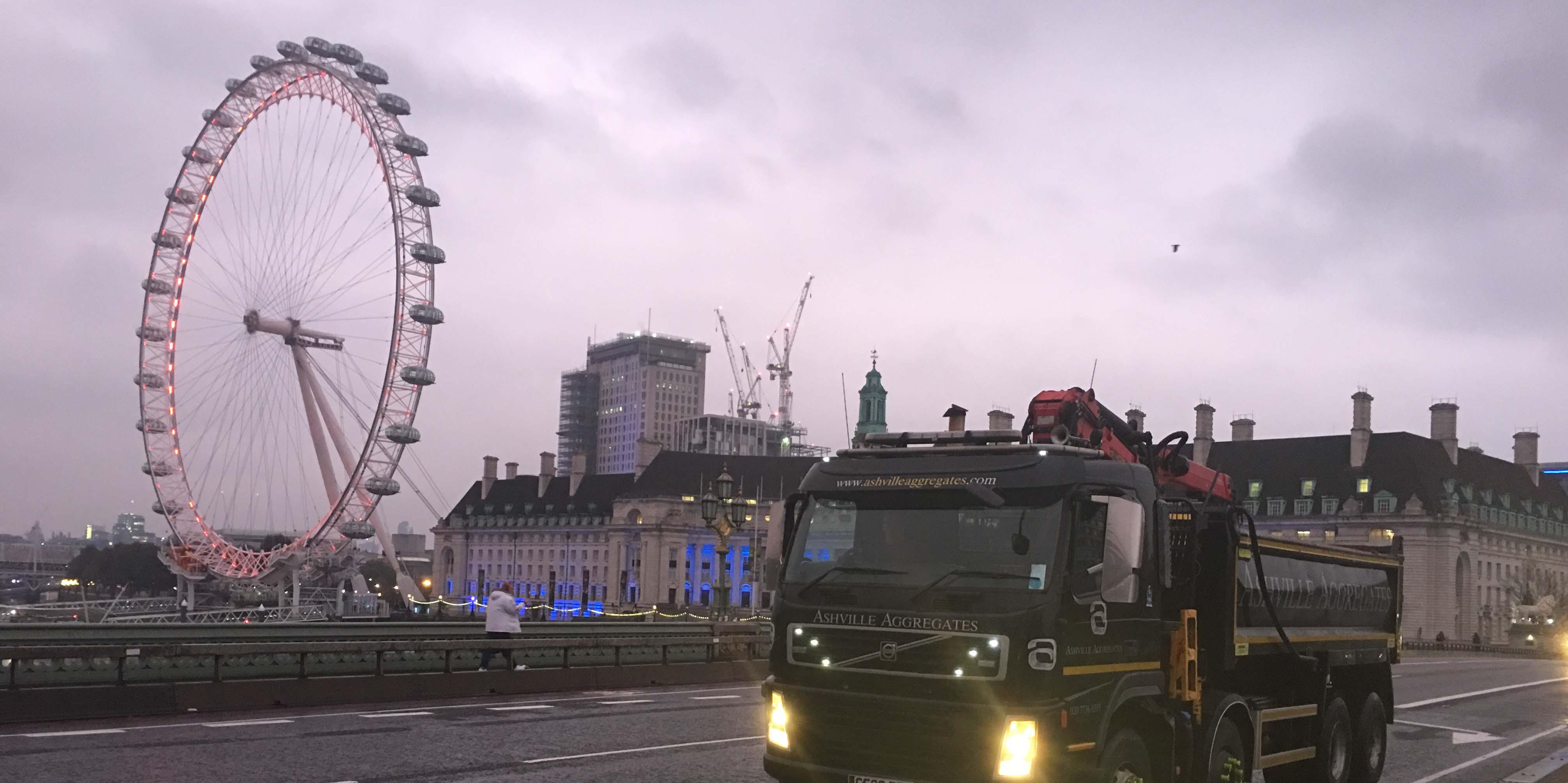 Grab Hire London | Ashville Aggregates