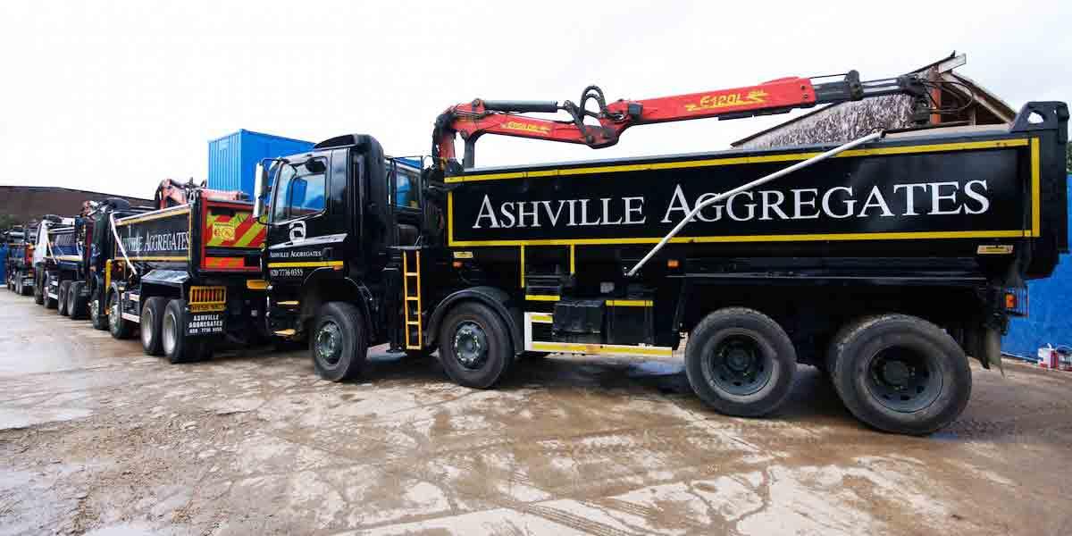 Grab Hire London   Ashville Aggregates