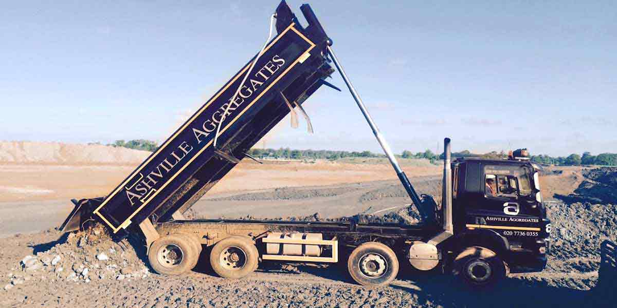 Tipper Hire London | Ashville Aggregates