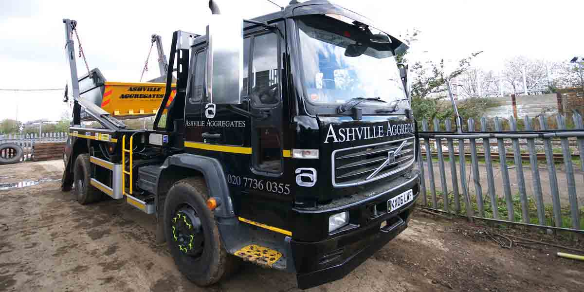 Skip Hire London | Ashville Aggregates