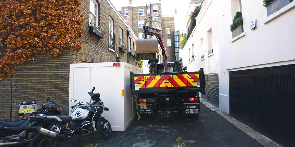 4x2 Small Grab Hire | 4x2 Mini Grab Hire | 4x2 Small Grab Loader