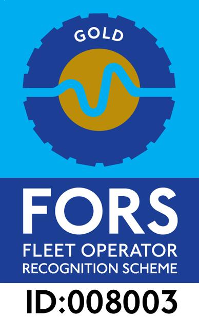 Ashville Aggregates FORS Gold Fleet Operator