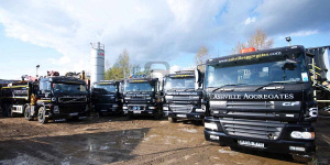 Ashville Aggregates Vehicle Fleet - FORS Gold Standard