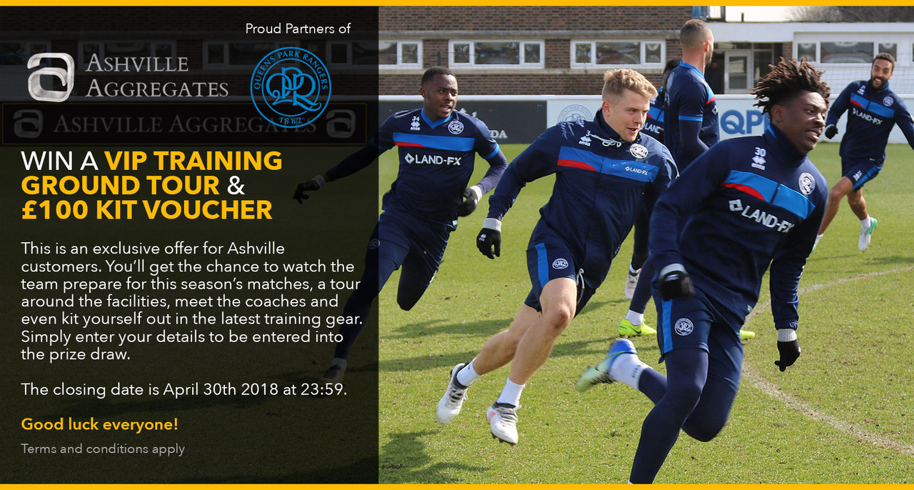 Win a trip to the QPR Training Ground!