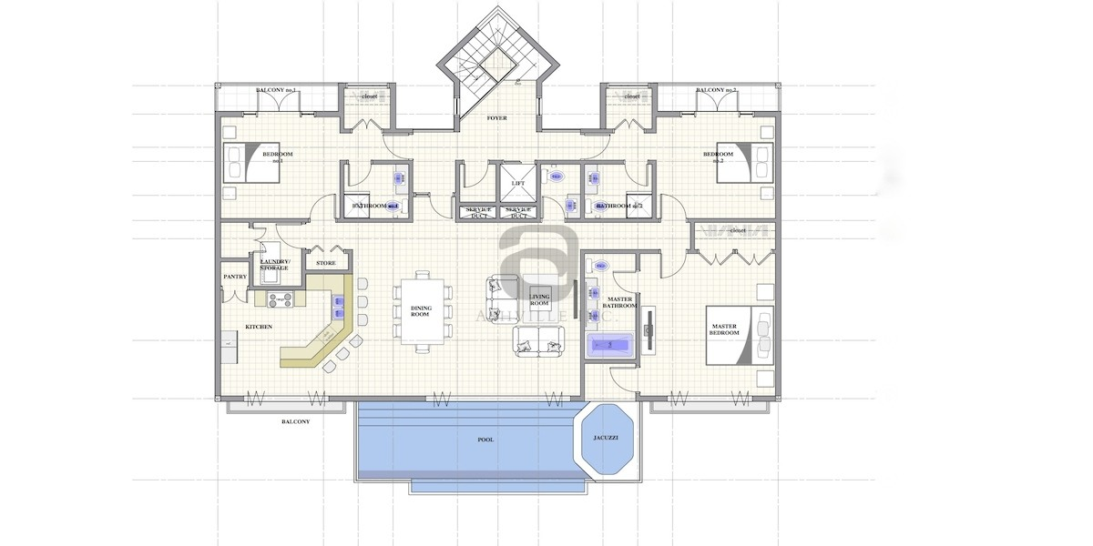 3 Bedroom Apartment St Lucia