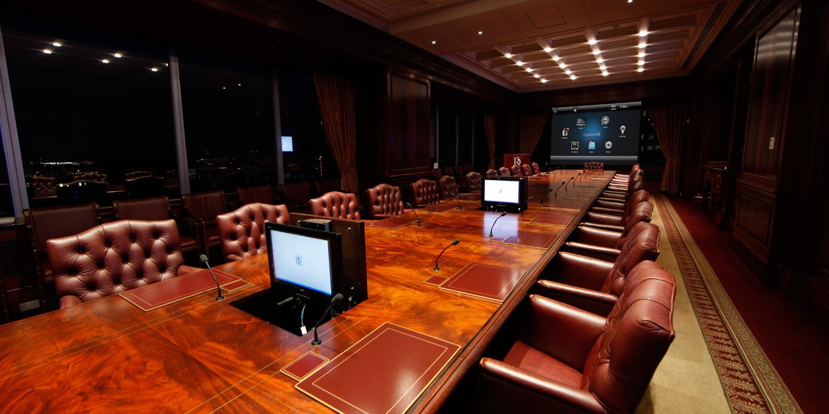 Boardroom audio visual