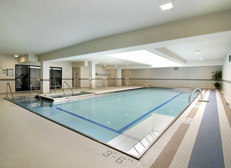 Basement conversion with swimming pool