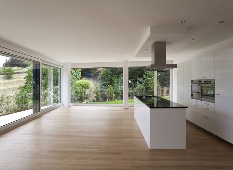 Luxury open plan kitchen extension