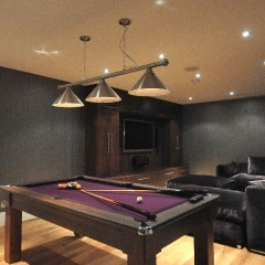 Central London Mews Home - Basement Completed