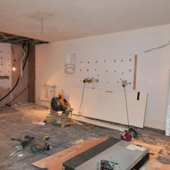 Central London Mews Home - Basement in Progress