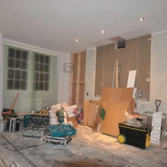 Central London Mews Home - Lounge Before