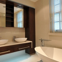 Central London Mews Home - Master En-Suite Completed