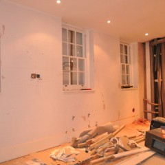 Central London Mews Home - Master Bedroom Before