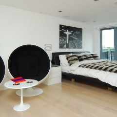 West London Penthouse - Master Bedroom Completed