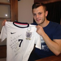 Jack Wilshere signed T-Shirt! Interior Design Chiswick