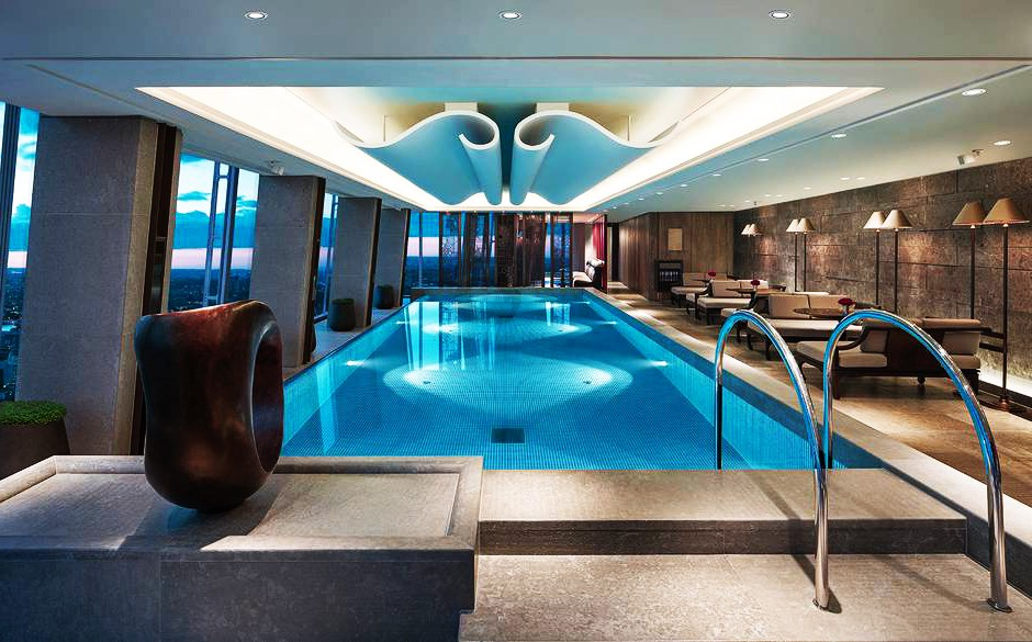 Europe s highest swimming pool design and build for Pool design london