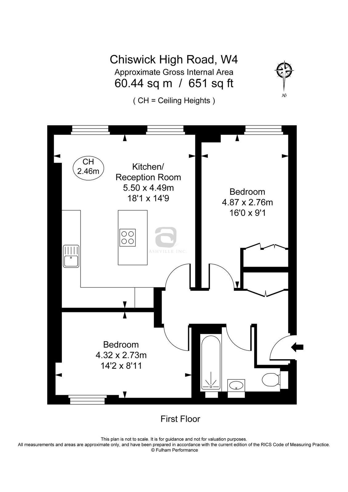 Floor Plan Flat 3